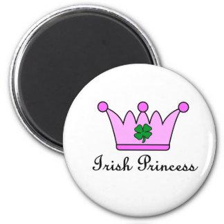 irish princess crown refrigerator magnet