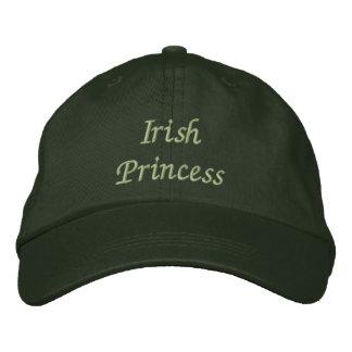 Irish Princess Embroidered Cap / Hat