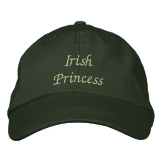 Irish Princess Embroidered Cap / Hat embroideredhat