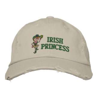 Irish Princess Embroidered Hat