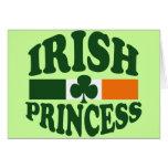 Irish Princess Greeting Cards