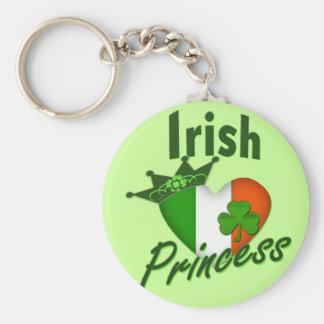 Irish Princess Heritage Heart Key Chains