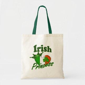 Irish Princess Heritage Heart Tote Bag