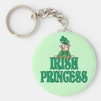 Irish Princess Little Leprechaun Keychain