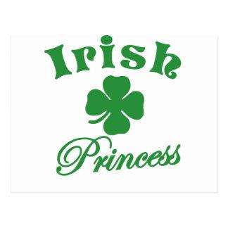 Irish Princess Postcard