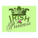 Irish Princess Postcards
