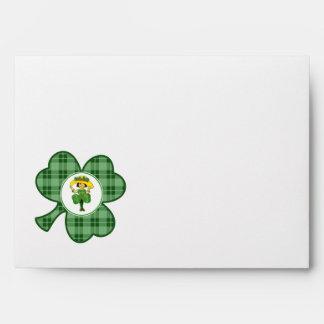 Irish Princess. St. Patrick´s Day Envelopes