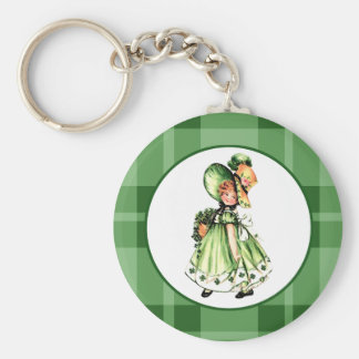 Irish Princess. St. Patrick´s Day Gift Keychain