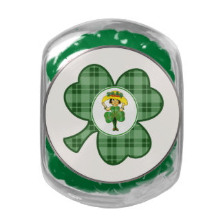 Irish Princess. St. Patrick's Day Gift Candy Jelly Belly Candy Jars