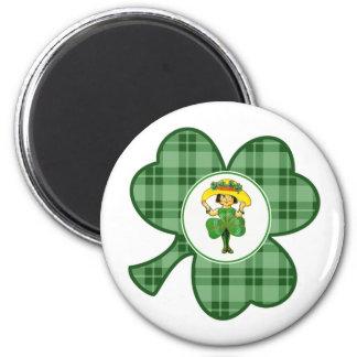 Irish Princess. St. Patrick's Day Gift Magnet
