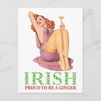 IRISH - Proud to be a Ginger
