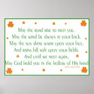 Irish Proverb 2 Print