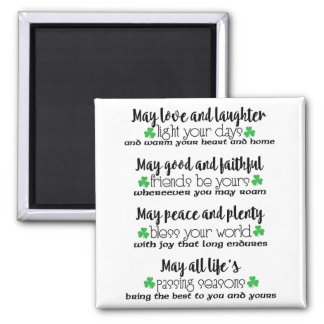 Irish Proverb Blessing Magnet