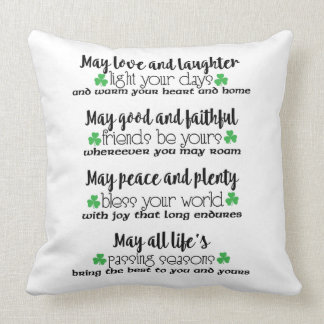 Irish Proverb Decorative Throw Pillow