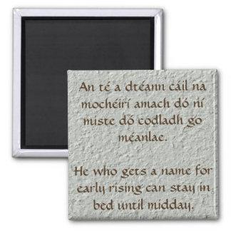 Irish Proverb Magnet