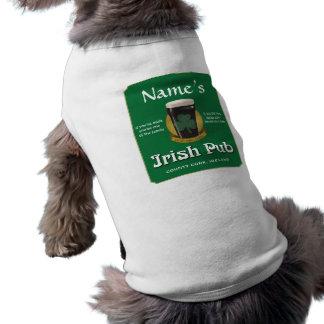 Irish Pub Dog T-shirt