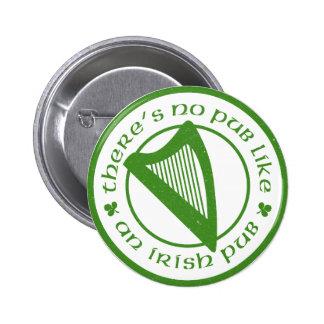 Irish Pub Harp Button