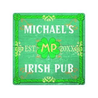 Irish Pub Sign St Patricks Bar Beer   Custom Name