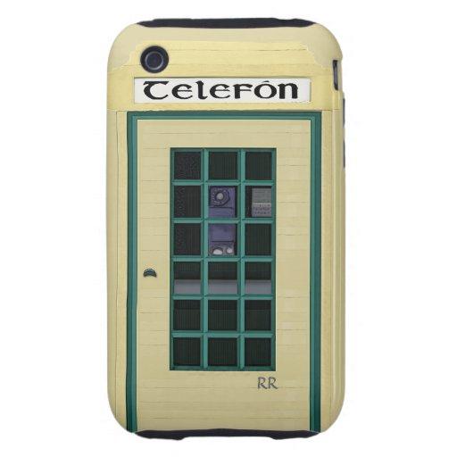 Irish Public Telephone Box on iPhone 3G Tough Tough iPhone 3 Covers