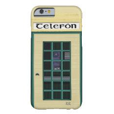 Irish Public Telephone Box On Iphone 6 Case at Zazzle