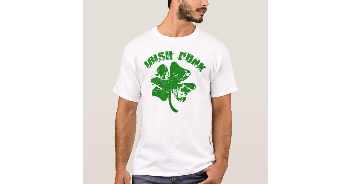 Irish Punk T-Shirt | Zazzle.com