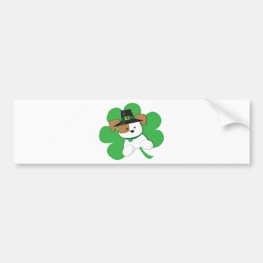 Irish Puppy Bumper Sticker
