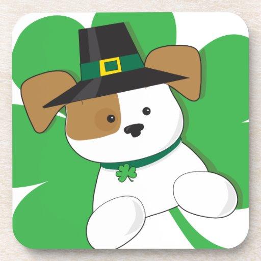 Irish Puppy Drink Coaster