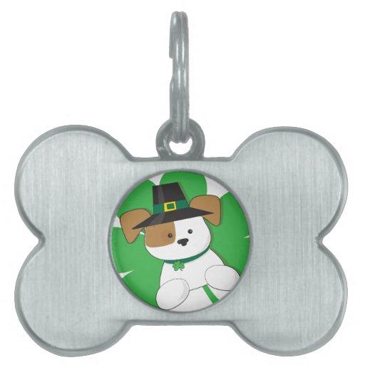 Irish Puppy Pet ID Tag