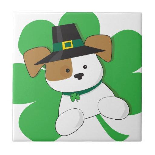 Irish Puppy Tiles