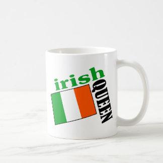 Irish Queen & Flag Coffee Mug