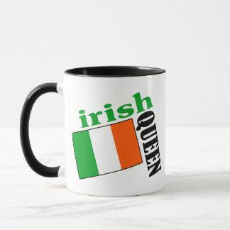Irish Queen & Flag Mug