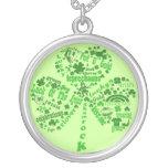 Irish Quotes Shamrock Jewelry