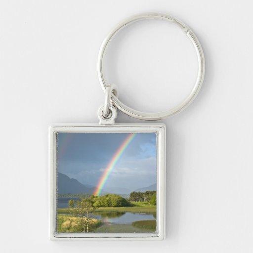 Irish Rainbow Keychain