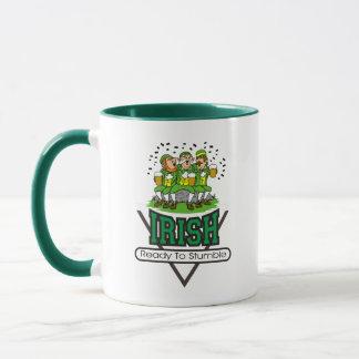 Irish Ready To Stumble Gift Mug