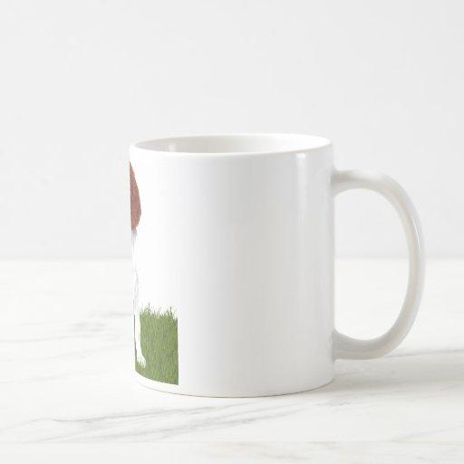 Irish Red and White Setter Puppy Coffee Mug