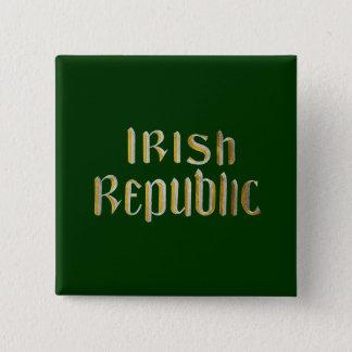 Irish Republic Pinback Button