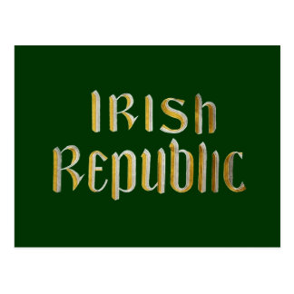 Irish Republic Postcard