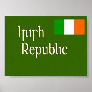 irish republic poster