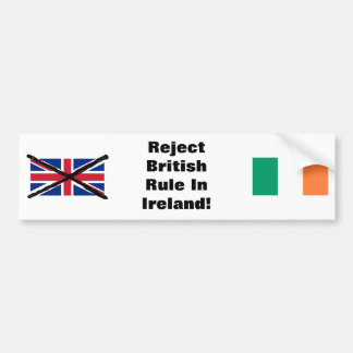 Irish Republican bumper sticker