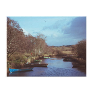 Irish River Beauty Canvas Print