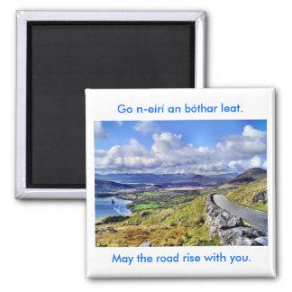 Irish Road Magnet