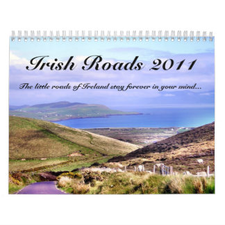 Irish Roads Calendar
