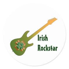 Irish Rock Star Stickers