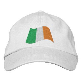 Irish ROI Ireland Flag Embroidered Baseball Hat