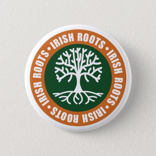 Irish Roots Button