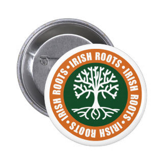 Irish Roots Button