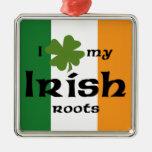Irish roots christmas tree ornaments