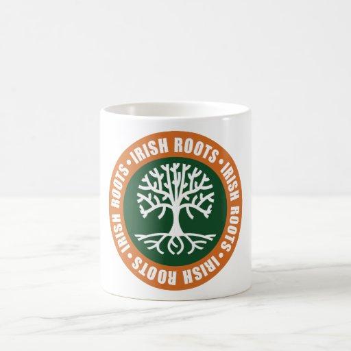 Irish Roots Classic White Coffee Mug