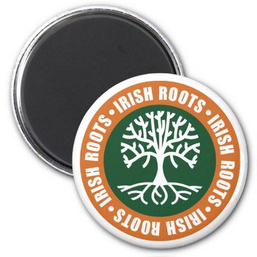 Irish Roots Refrigerator Magnet