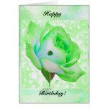Irish rose and Birthday! Card
